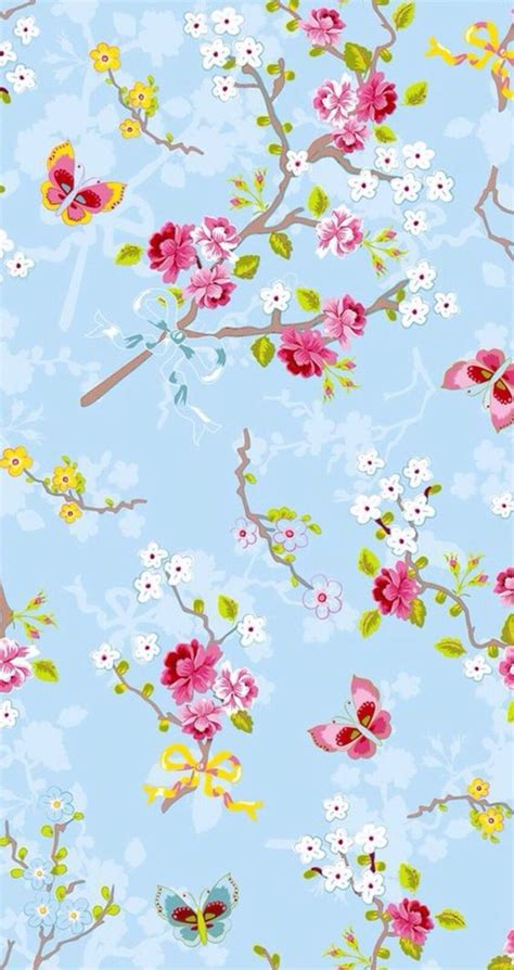 wallpaper girly flowers background blue floral flowers girly iphone pattern