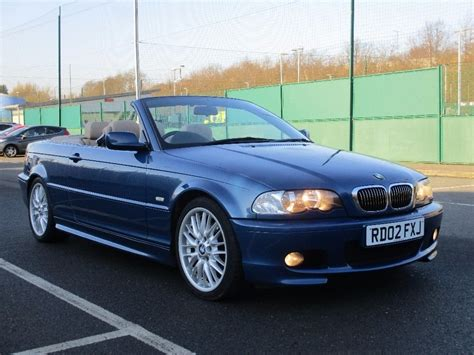 Bmw 325 Ci by 2002 Bmw 325 Ci Sport Convertible Auto Leather M Sport