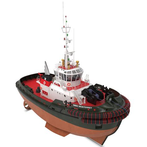 tug boat brands tugboat 3 3d model