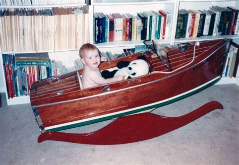 rockin  woody boater cradle  seattle wa classic
