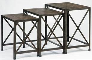 Nesting End Tables Rustic Accents Nesting End Tables T500 716 Furniture
