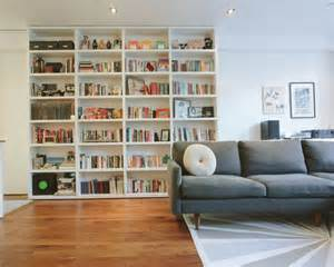 Space Saving Stairs Houzz space saving bookcase along stair wall home design ideas