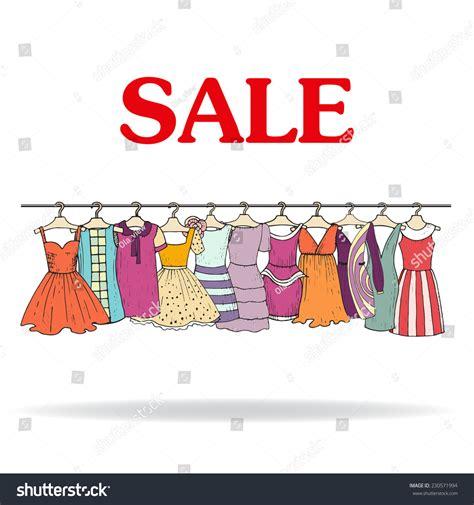 illustration sale fashionable stock vector