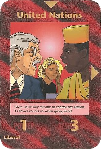 United Nations Nation 13 by Illuminati Card All The Cards In The Deck
