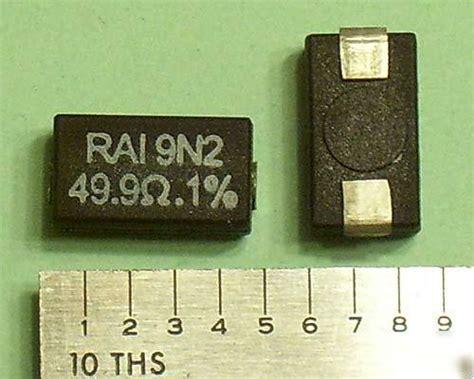 2w smd resistor 49 9 ohm 2w surface mount wirewound resistors 1 25pcs