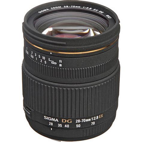 Sigma 70mm F 2 8 Ex Dg Af Macro sigma 28 70mm f 2 8 ex dg autofocus lens for canon eos 549101
