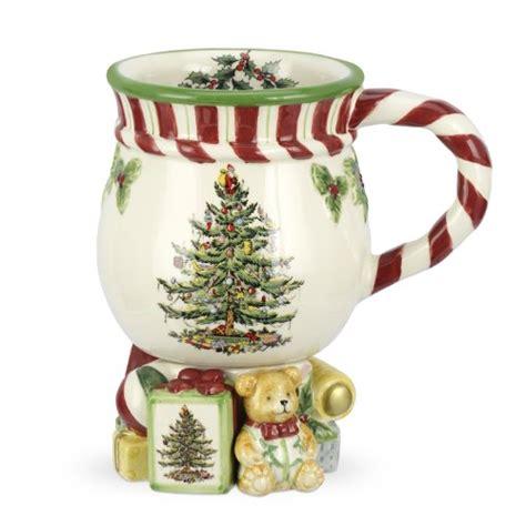 spode christmas tree candy cane handle mugs mugs wikii