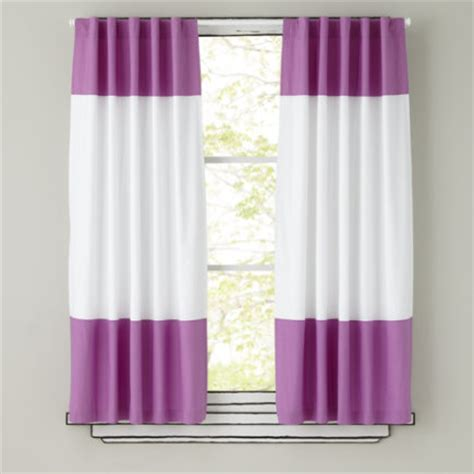 curtains purple and white curtains kids room decor