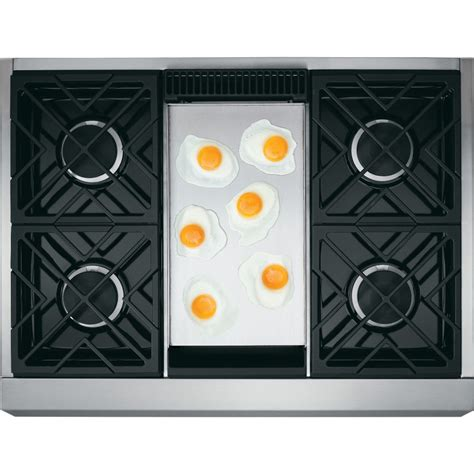 Wolf 36 Inch Gas Cooktop Zgu364ndpss Monogram 36 Quot Professional Gas Rangetop With
