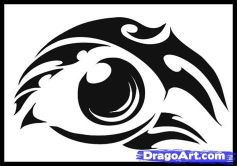 how to draw a simple tribal tattoo step by step tattoos