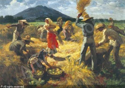 working   field fernando amorsolo paintings