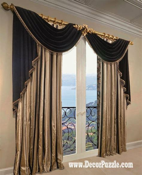 fancy curtains for bedroom french curtains ideas modern luxury curtains black scarf