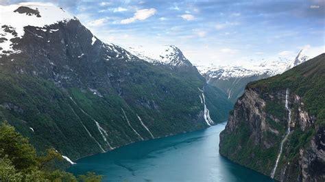 fjord wallpaper geirangerfjord wallpapers wallpapersin4k net