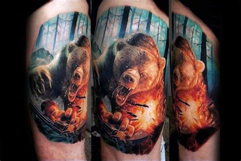 nature tattoos for guys 100 animal tattoos for cool living creature design ideas