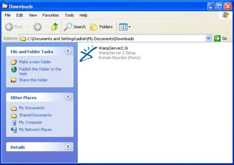 installing xp and phpmyadmin how to install wamp server on xp and windows