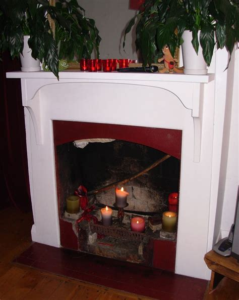 how to make a faux fireplace how to make a fireplace