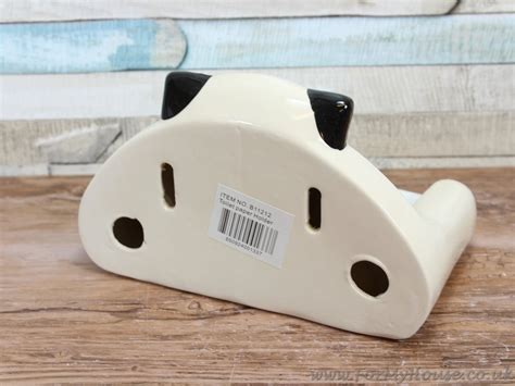 novelty toilet paper holder 2kewt novelty cat cream ceramic toilet roll paper holder