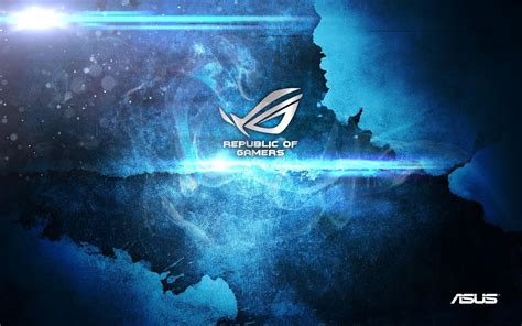 wallpaper blue gamer photo collection asus gamer wallpaper blue