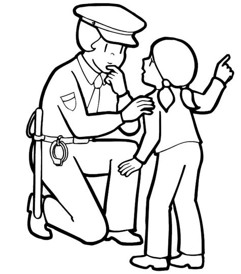 Police Officer Coloring Pages Google Search Pbl Coloring Pages Of Officers
