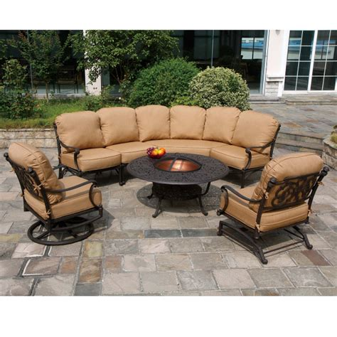 st augustine patio furniture st augustine seating cast patio furniture by hanamint family leisure