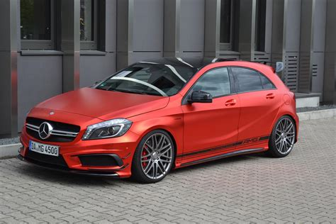 Felgen Lackieren Kosten Stuttgart by Mercedes A45 Amg Gets Wrapped In Wonderful Matte