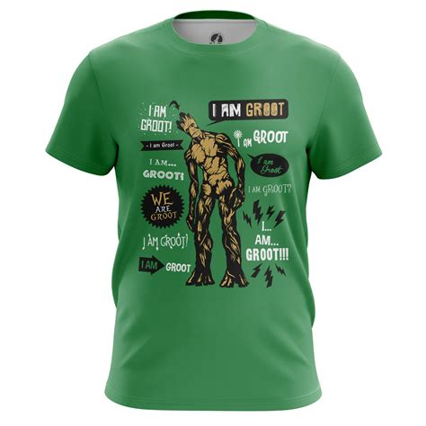 T Shirt Pria Groot Guardians Of The Galaxy 1 mens t shirt groot guardians of the galaxy idolstore