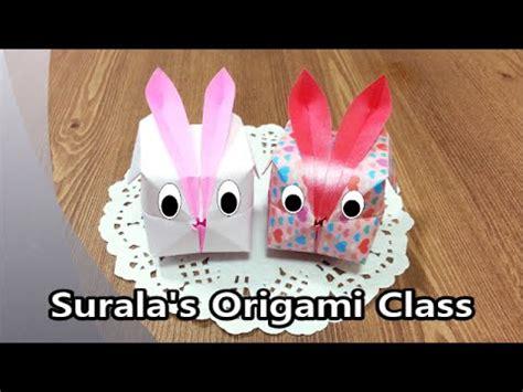 Origami Balloon Bunny - origami balloon rabbit 종이접기 풍선 토끼