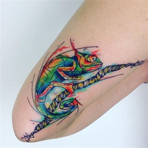 smile tattoo designs 35 colorful chameleon ideas cheerful designs that
