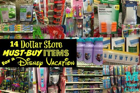 Home Decor Store Orlando by 14 Dollar Store Must Buy Items For A Disney Vacation