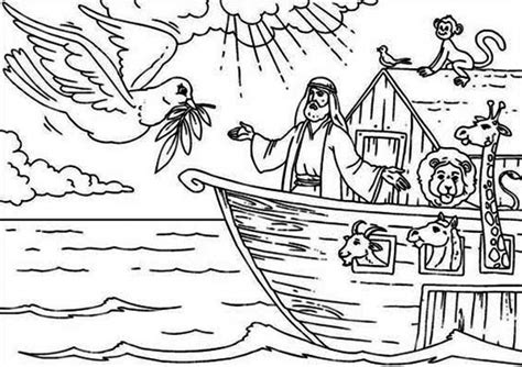Bible Coloring Pages For Noah by Noah Coloring Page Printable Coloring Image