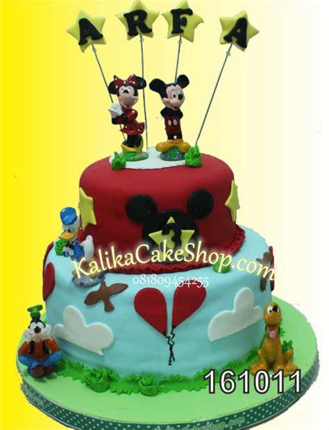 Kue Mickey Mouse by Kue Ulang Tahun Mickey 3 Susun Kue Ulang Tahun Bandung