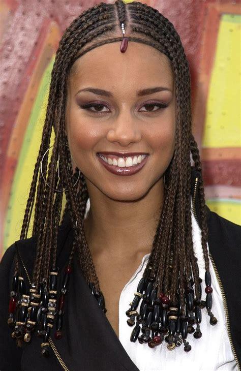 alicia keys braids hairstyles alicia keys