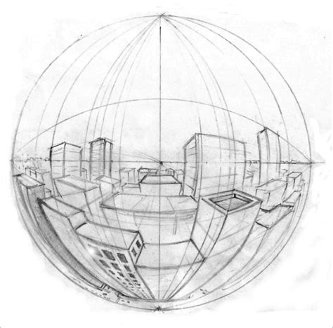 0 Point Perspective Drawing by How To Draw With Proper Perspective Engineeringporn