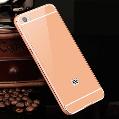Casing Xiaomi Mi6 Plus Custom xiaomi mi5 metal frame back cover protective