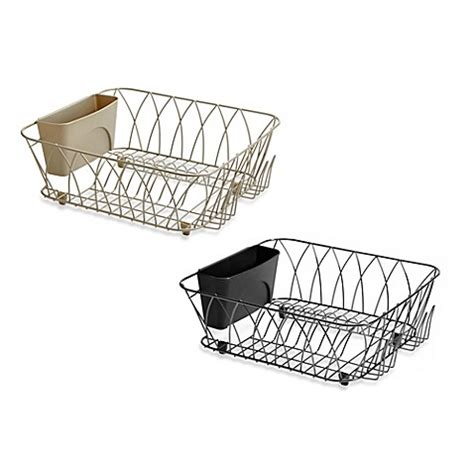 bed bath and beyond dish drying rack tuscan dish rack bed bath beyond