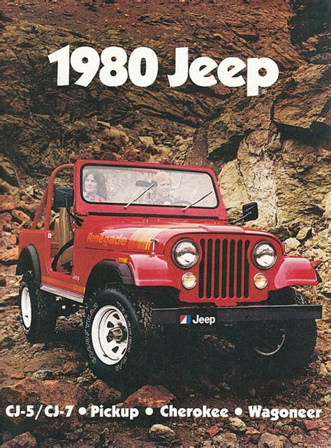 old jeep wrangler 1980 17 best images about old jeep ads on pinterest