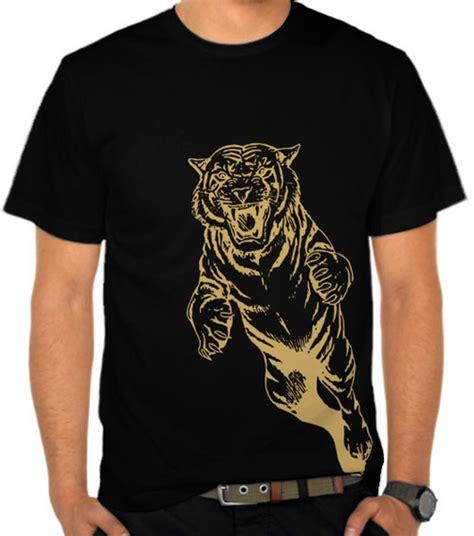 baju kaos spandek gambar macan jual kaos macan harimau satubaju