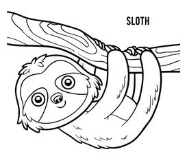 sloth animal coloring pages 187 coloring pages bilder und suchen faultier