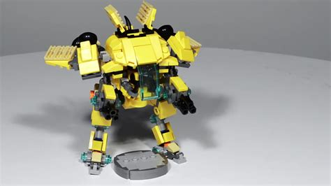how to make your own lego version of overwatch s d va