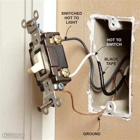 two lights one switch wiring diagram power into light