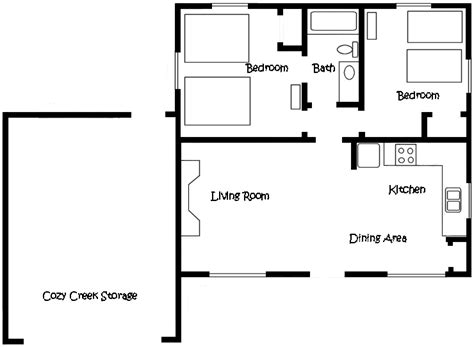 cozy cottage floor plans cottage seven floor plan