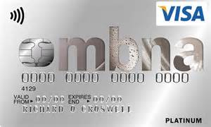 Mba Credit Card Login by Mbna Offers 1 25 Fee On 14 Month Interest Free Balance