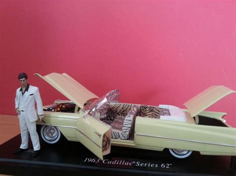 scarface cars scarface 1963 cadillac m tony montana figur 1 18 ebay