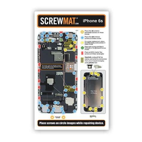 Magnetic Mat Iphone 6s magnetic screwmat mat repair tool for iphone 6s ebay