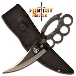 Titanium Kitchen Knives chakra blade knuckle guard knife for sale all ninja gear