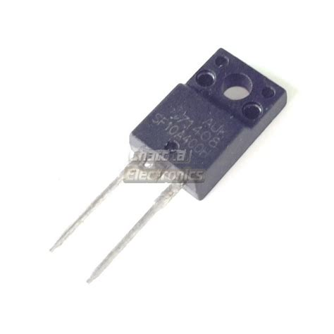 Sf10a400h sf10a400h ไดโอด ultra fast recovery power rectifier