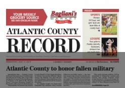 Atlantic County Records The Daily Journal Historical Newspapers