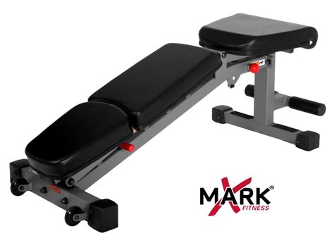 exercise bench with weights xmark fitness commercial rated adjustable dumbbell weight