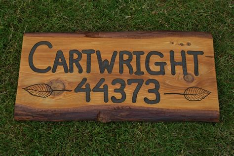 Handcrafted Wood Signs - custom made wood signs