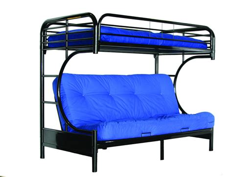 bunk beds with a futon on the bottom bunk beds with futon on bottom bedroom ideas pictures
